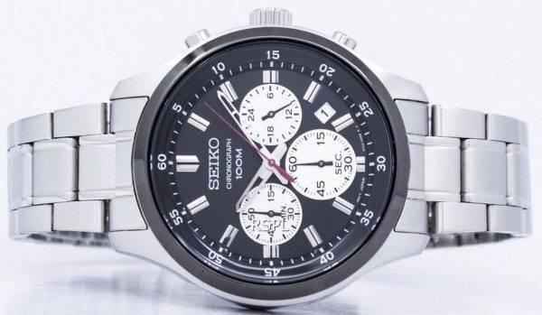 Montre Seiko chronographe Quartz SKS593 SKS593P1 SKS593P hommes