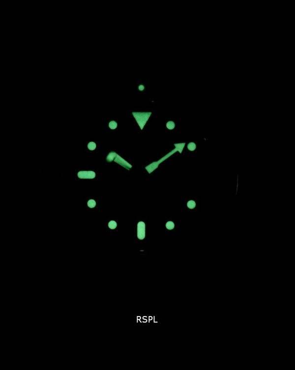 Watch Ratio en cuir brun SKX011J1-LS9 200M hommes Seiko automatique montre de plongée