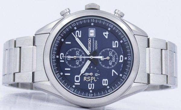 Montre Seiko chronographe Quartz SSB267 SSB267P1 SSB267P hommes