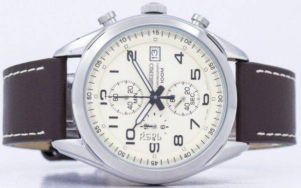 Montre Seiko chronographe Quartz SSB273 SSB273P1 SSB273P hommes