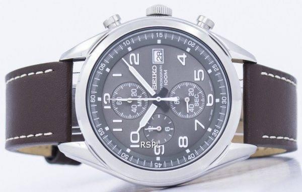 Montre Seiko chronographe Quartz SSB275 SSB275P1 SSB275P hommes