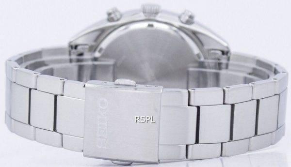 Montre Seiko solaire chronographe tachymètre SSC619 SSC619P1 SSC619P hommes