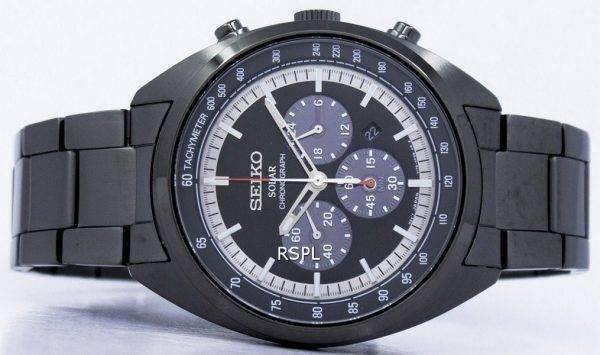 Montre Seiko solaire chronographe tachymètre SSC623 SSC623P1 SSC623P hommes