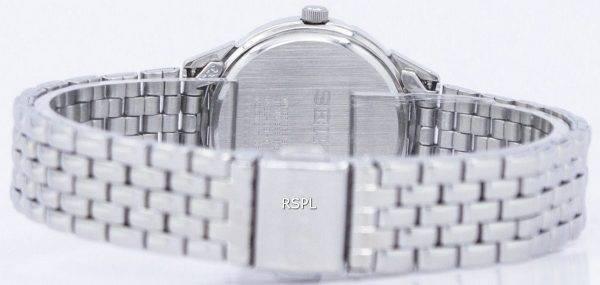 Montre Seiko Quartz diamant Accent SUR691 SUR691P1 SUR691P féminin