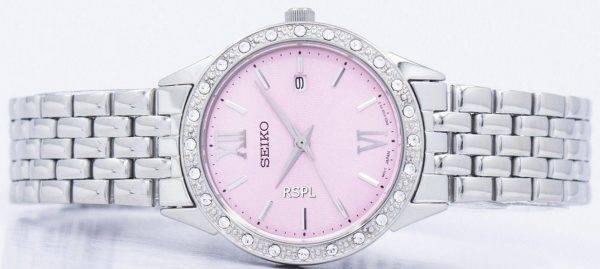 Montre Seiko Quartz diamant Accent SUR693 SUR693P1 SUR693P féminin