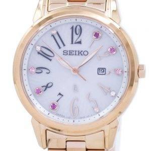 Seiko solaire Japon fait montre de diamant Accent SUT302 SUT302J1 SUT302J féminin