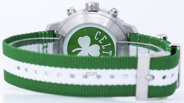 Montre Tissot Quickster NBA Boston Celtics T095.417.17.037.17 T0954171703717 masculin