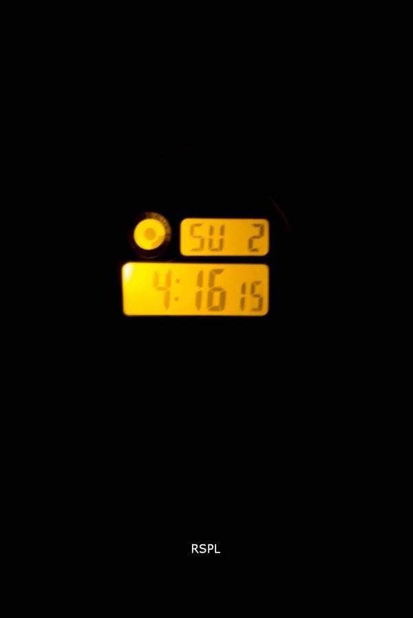 Montre Casio Sport Illuminator alarme Chrono Digital W-216H-1AV hommes