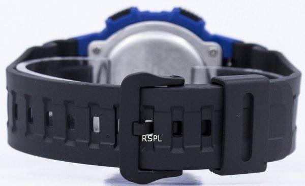 Casio Super illuminateur Dual Time Vibration alarme numérique W-736H-2AV montre homme