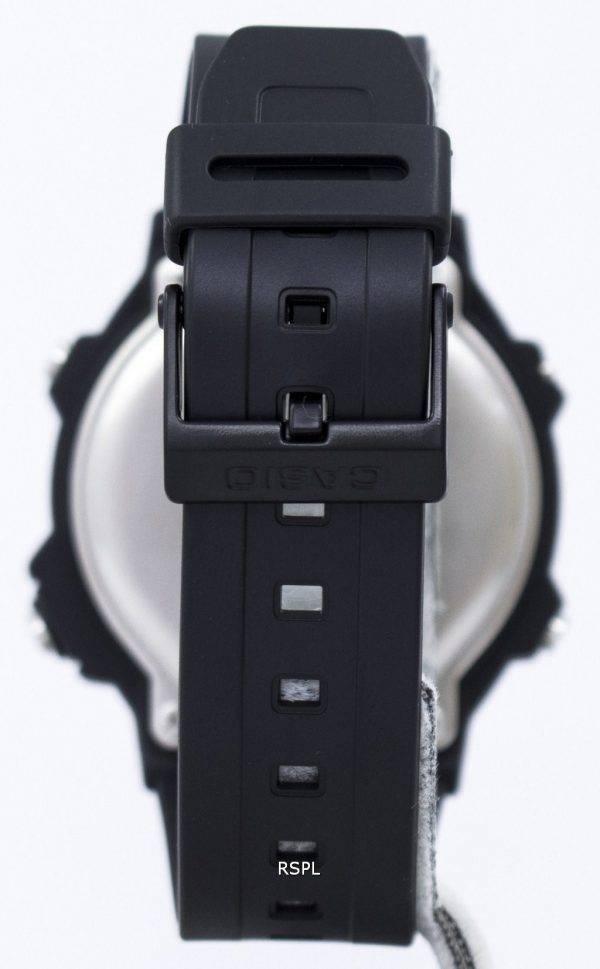 Casio Illuminator Electro Luminescence chronographe alarme W-740-1V montre homme
