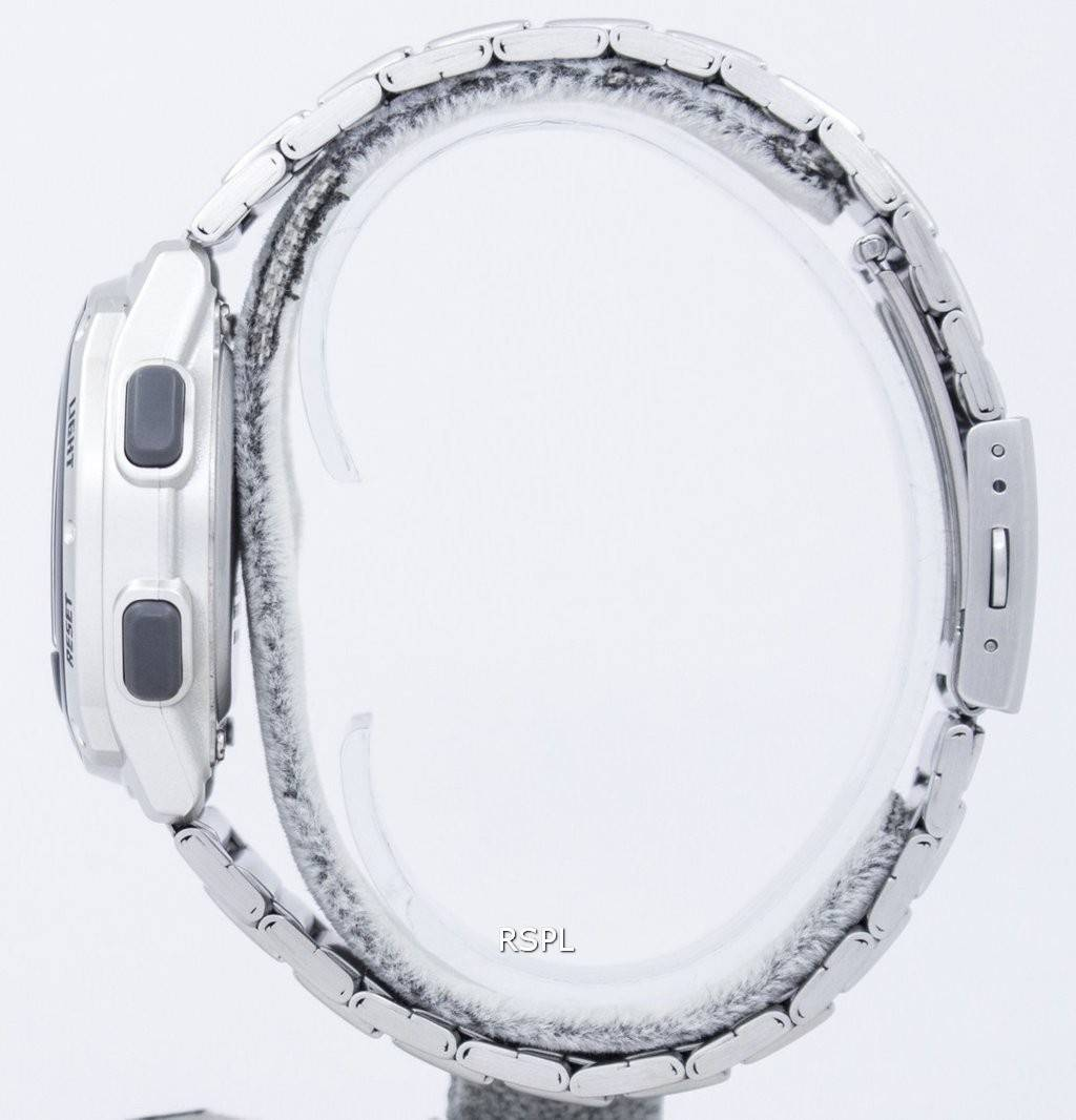 Montre Casio Illuminator compte à rebours minuteur Digital W PT1n7