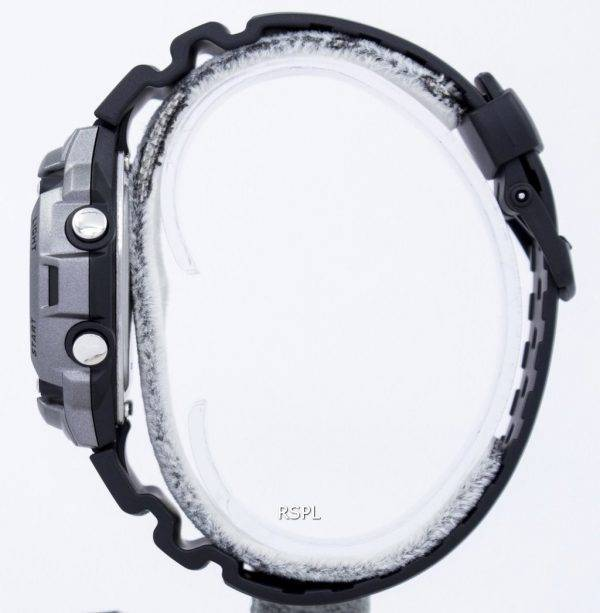 Montre Casio Tough Solar illuminateur Lap Memory 120 Digital W-S200H-1AV masculine