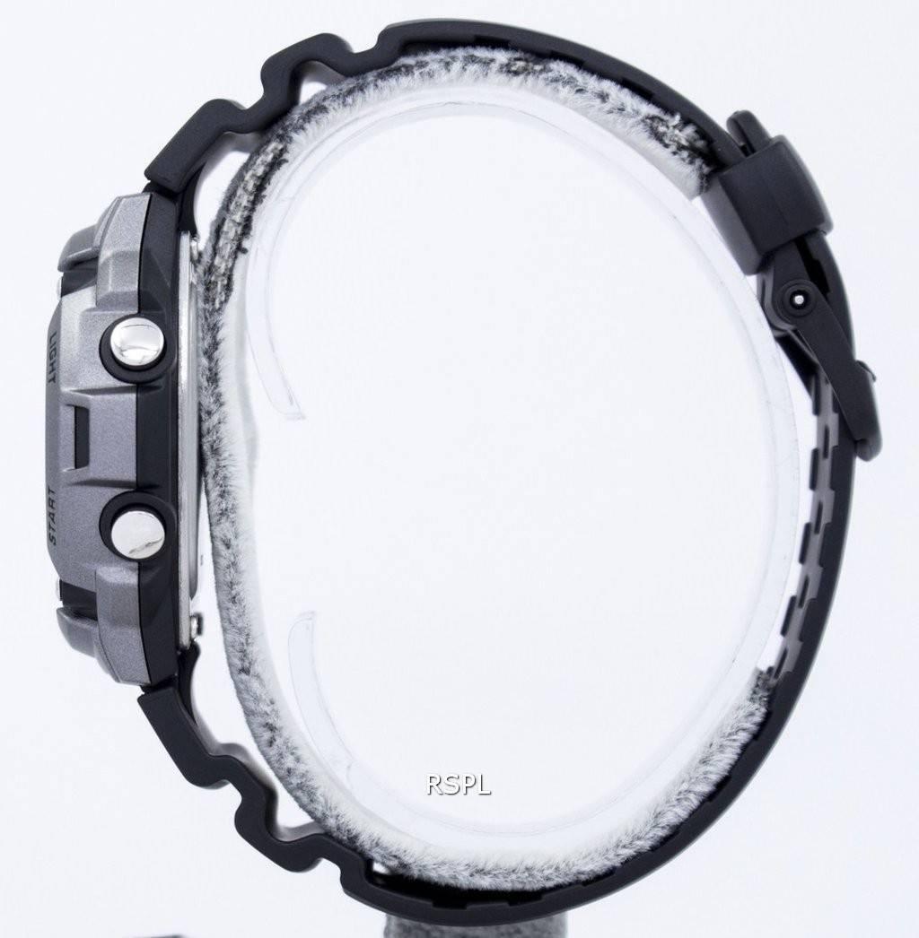 Montre Casio Tough Solar illuminateur Lap Memory 120 Digital  GEpVN