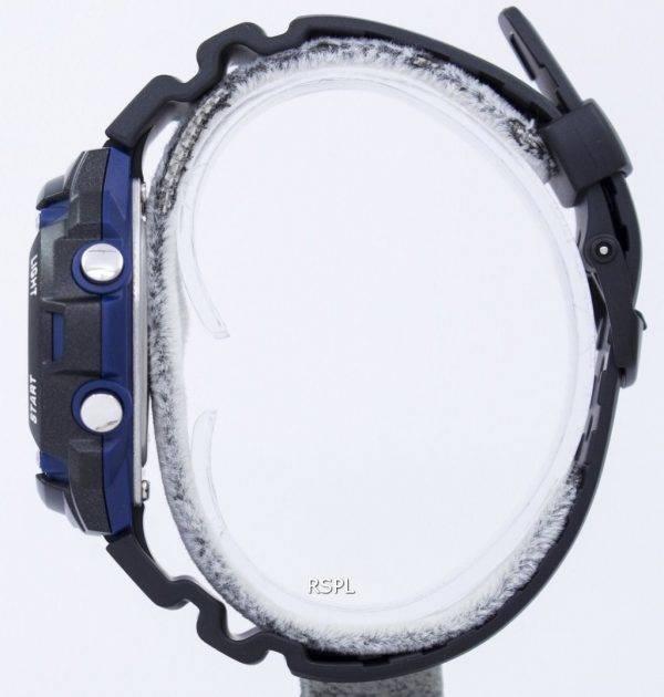 Casio Tough Solar illuminateur marée graphique Moon Phase numérique W-S210H-1AV montre homme