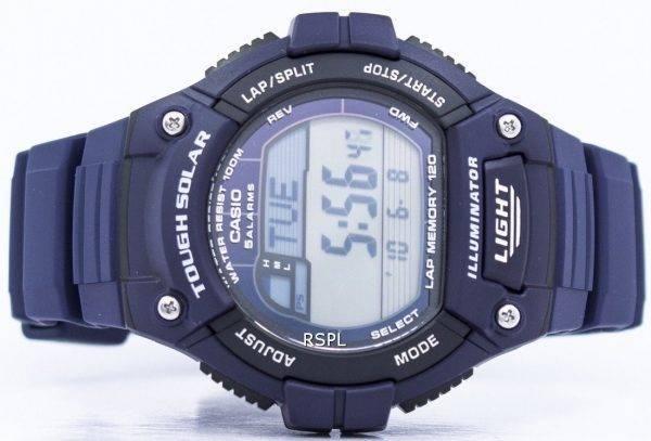 Casio Illuminator difficile Tour solaire mémoire alarme numérique W-S220-2AV montre homme