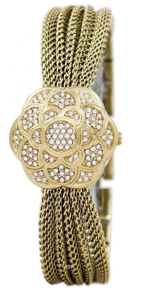 Anne Klein Quartz Swarovski Crystal Multi chaîne 1046CHCV Women Watch