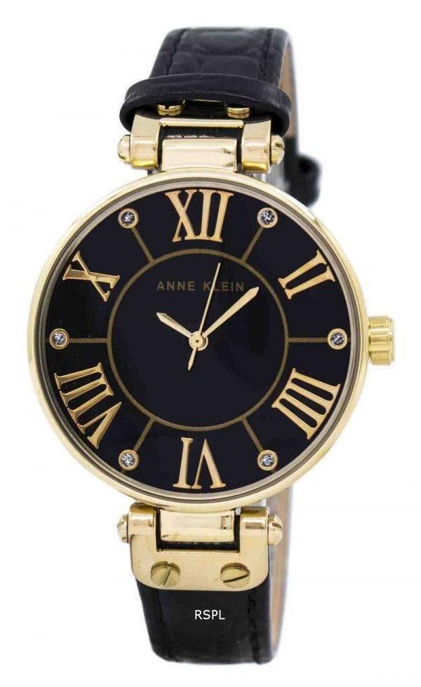 Anne Klein Quartz diamant Accent 1396BMBK Women Watch