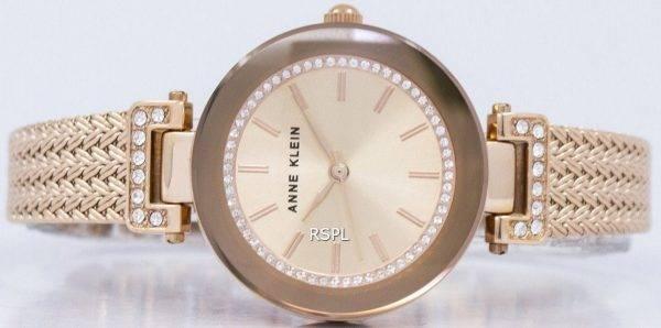Anne Klein Quartz cristal Swarovski 1906RGRG Women Watch