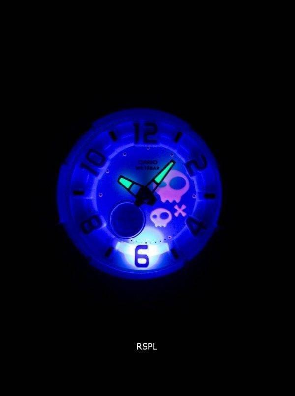 Casio Baby-G Neon illuminateur BGA-133-7BDR femmes montre