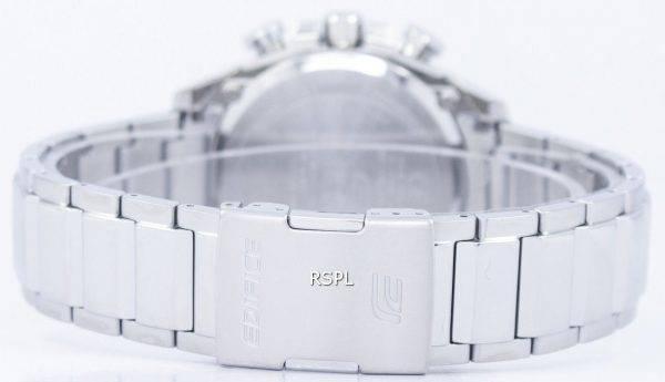 Casio Edifice Bluetooth Smartphone lien Dual Time Tough Solar EQB-501D-1 a montre homme