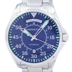 Montre Hamilton Khaki Aviation pilote automatique H64615145 masculin