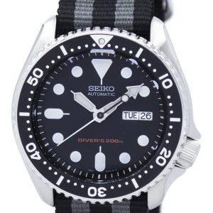 Montre 200M NATO bracelet SKX007K1-NATO1 masculine automatique Seiko Diver