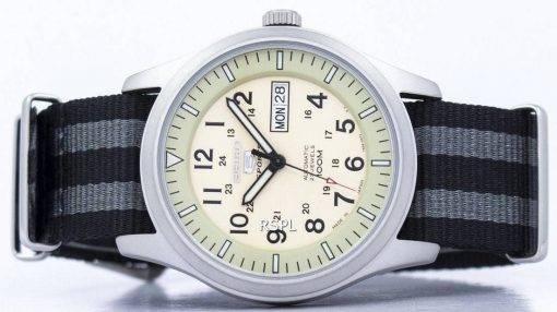 Seiko 5 Sports automatique militaire au Japon fait l'OTAN Strap SNZG07J1-NATO1 montre homme
