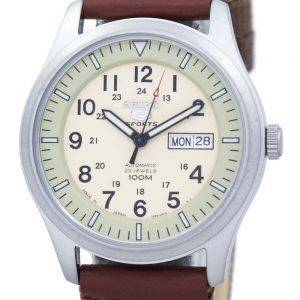 Seiko 5 Sports militaire Japon automatique fait en toile sangle SNZG07J1-NS1 montre homme