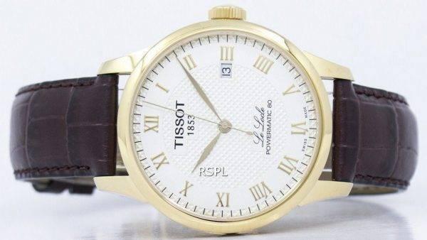 Montre Tissot T-Classic Le Locle Powermatic 80 T006.407.36.263.00 automatique T0064073626300 masculin