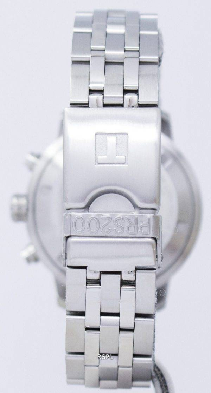 Montre Tissot T-Sport PRS 200 Chronographe Quartz T067.417.11.031.01 T0674171103101 hommes