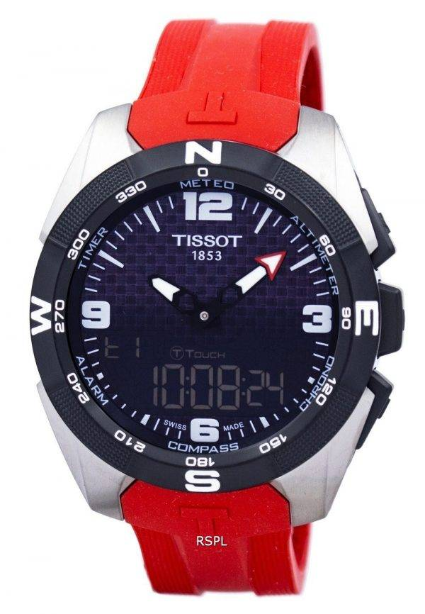 Montre Tissot T-Touch Expert solaire alarme T091.420.47.057.00 T0914204705700 masculin