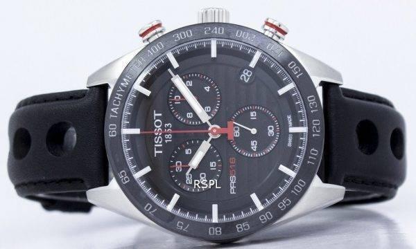 Montre Tissot T Sport PRS 516 Chronographe Quartz T100.417.16.051.00 T1004171605100 hommes