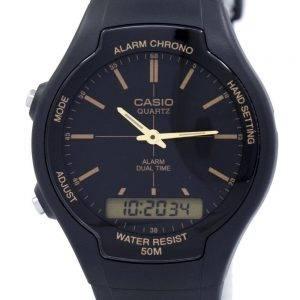 Casio alarme Chrono Dual Time Quartz AW-90H-9EVDF AW90H-9EVDF montre homme