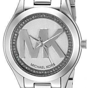 Montre Michael Kors Mini piste Slim Quartz diamant Accent MK3548 féminin