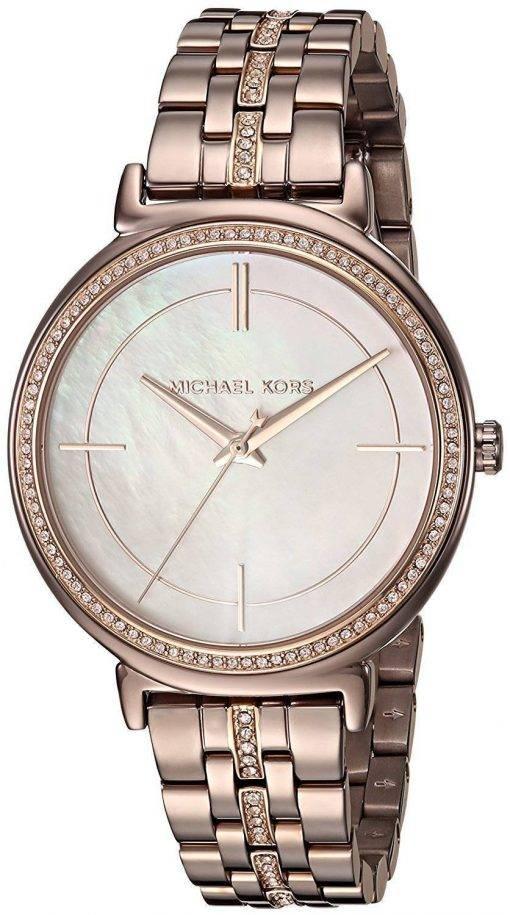 Michael Kors Cinthia Quartz diamants Accent MK3737 Women Watch