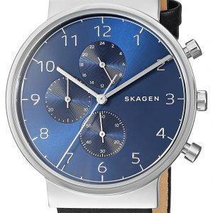 Montre Skagen Ancher Chronographe Quartz SKW6417 masculin