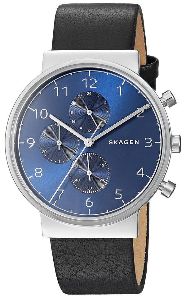 Montre Skagen Ancher Chronographe Quartz SKW6417 masculin