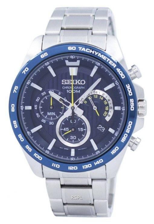 Montre Seiko chronographe tachymètre Quartz SSB301 SSB301P1 SSB301P hommes