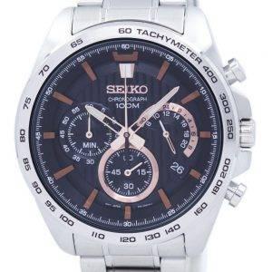 Montre Seiko chronographe Quartz tachymètre SSB307 SSB307P1 SSB307P hommes