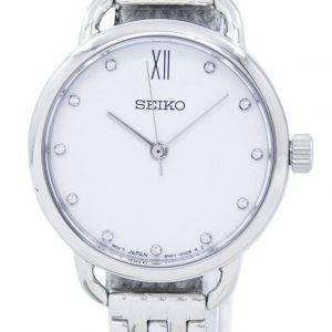 Montre Seiko analogique Quartz diamant Accent SUR697 SUR697P1 SUR697P féminin