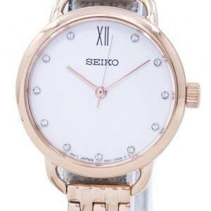 Montre Seiko analogique Quartz diamant Accent SUR698 SUR698P1 SUR698P féminin
