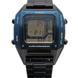 Câblé de Seiko Watch Edition limitée chronographe alarme AGAM701 masculin
