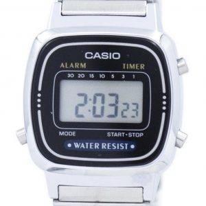 Montre Casio Vintage alarme numérique LA670WD-1 féminin