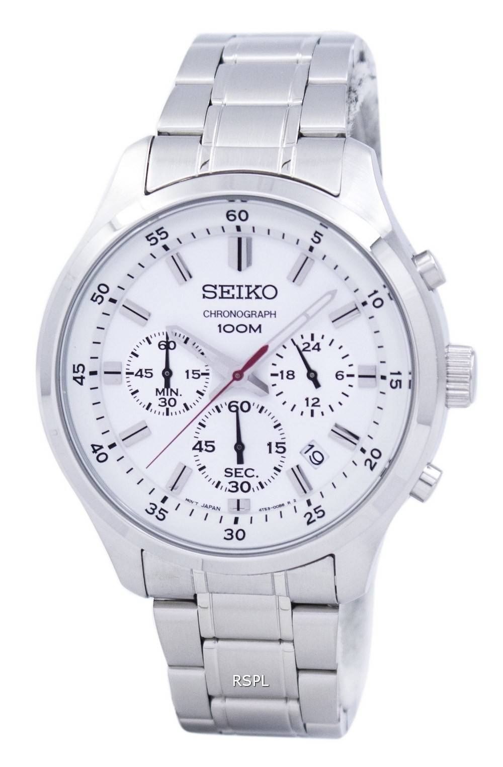 Seiko Chronograph Quartz SKS583 SKS583P1 SKS583P Men's Watch