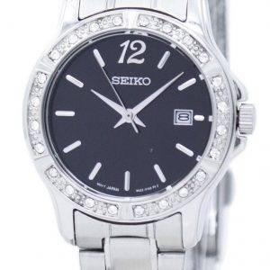 Montre Seiko analogique Quartz diamant Accent SUR719 SUR719P1 SUR719P féminin