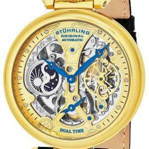 De l'empereur Stührling Original Grand Dual Time automatique 127A2.333519 montre homme