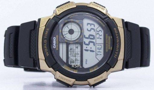 Montre Casio Illuminator monde temps alarme AE-1000W-1A3V AE1000W-1A3V hommes