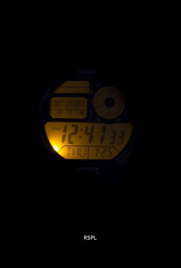 Casio jeunesse monde temps alarme monde carte AE-1000W-4AV AE1000W-4AV montre homme