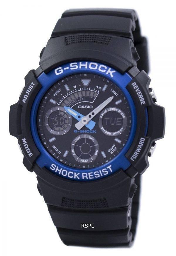 Montre Casio G-Shock monde numérique analogique AW591-2ADR