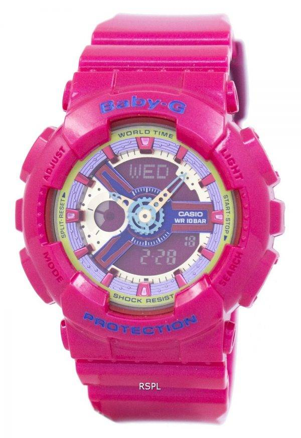 Montre Casio Baby-G World Time BA-112-4A femmes